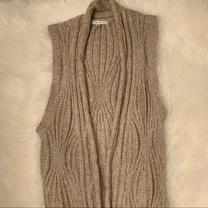 cAbi chunky knit vest
